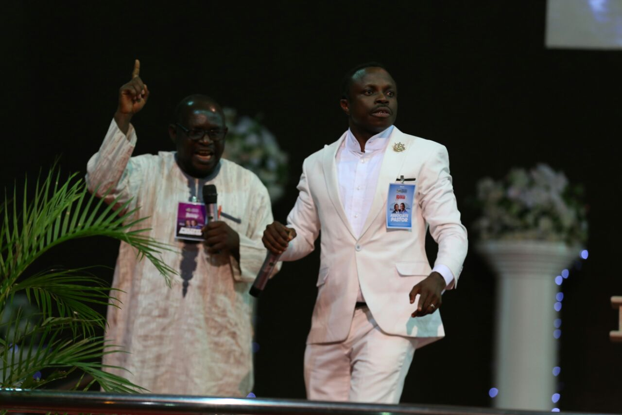 Apostle Eric Ministrations in Nigeria with Rev. Joe. Olaiya